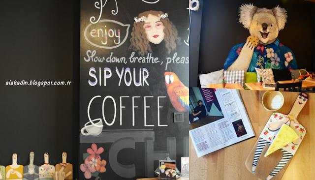 Çok ama çok sevimli bir mekan Coffeeshop