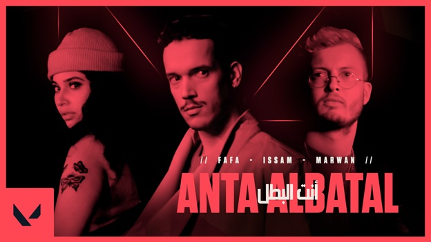 VALORANT Music Beat 'Anta Al Batal'