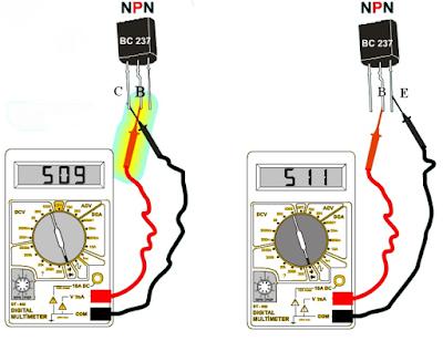 transistör sağlamlık testi