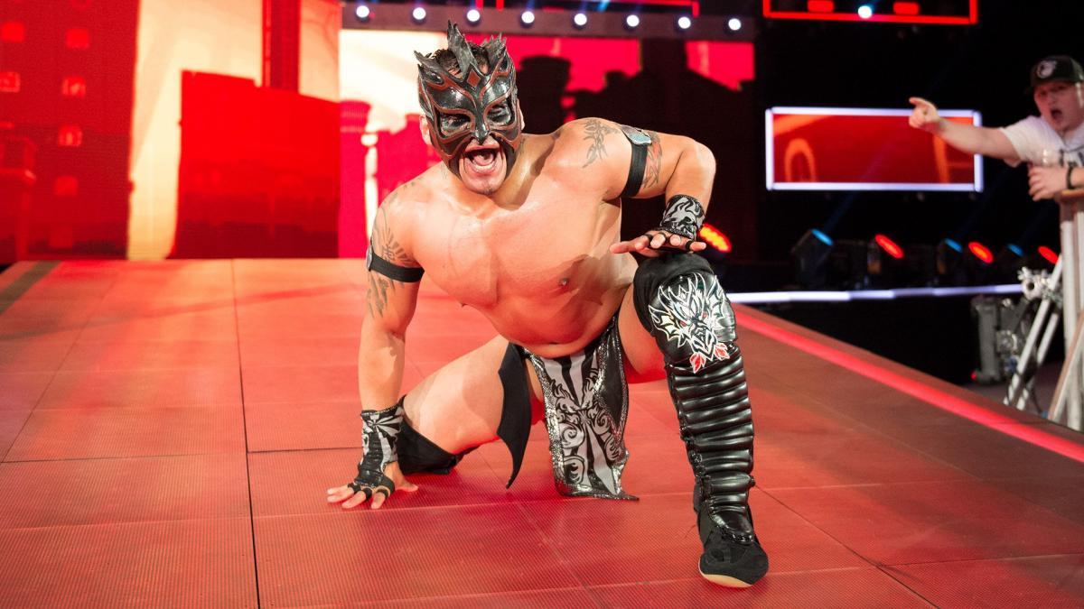 Kalisto on WWE RAW