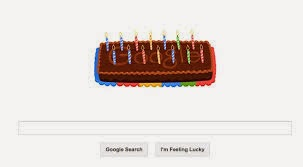 Personalized Google Birthday Doodle
