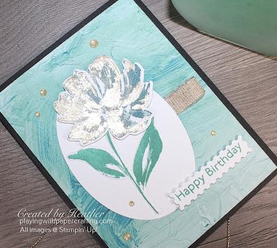 fine art floral gilded leafing embellishment 3