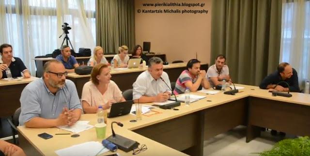 Η προβλήτα της Παραλίας Κατερίνης χθες το βράδυ στο Δημοτικό Συμβούλιο, πυροδότησε εντάσεις και χαρακτηρισμούς. (ΒΙΝΤΕΟ)