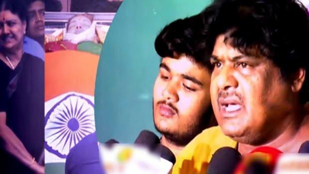 முன்னாள் முதல்வர் ஜெயலலிதா சாகடிக்கப்பட்டார்!!… பிரபல நடிகர் மன்சூர் அலிகான் ஆவேசம்!!…