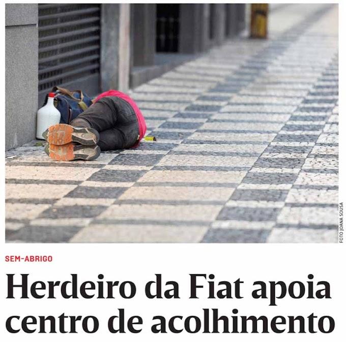 Os sem abrigo da capital já internacionalizaram o problema