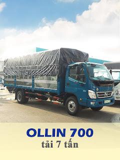 xe tải thaco ollin 700 tải trọng 7 tấn