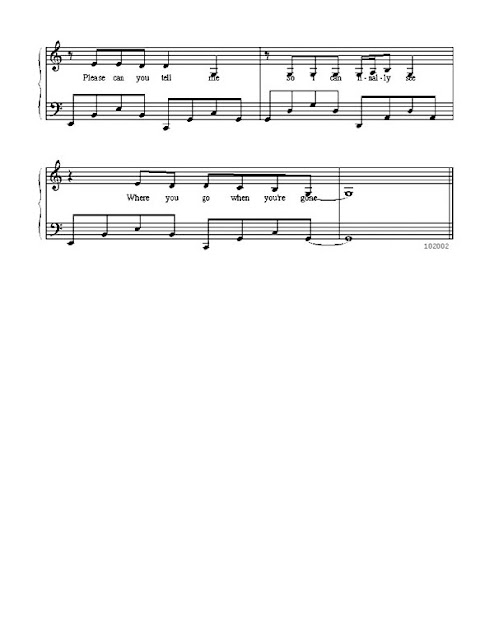 Partitura Piano Michelle Branch