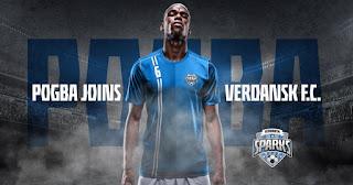 officially: Manchester United midfielder Paul Pogba joins  Call of Duty team (Verdansk FC)