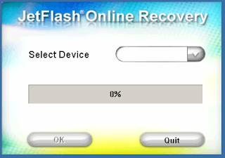 Transcend JetFlash 170 usb format utility