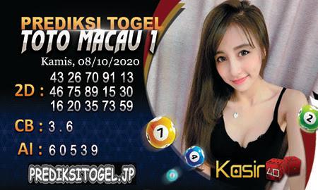 Prediksi Kasir4D Togel Macau Kamis 08 Oktober 2020