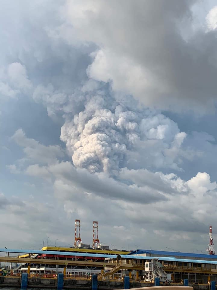 2020 TAAL Volcano Eruption