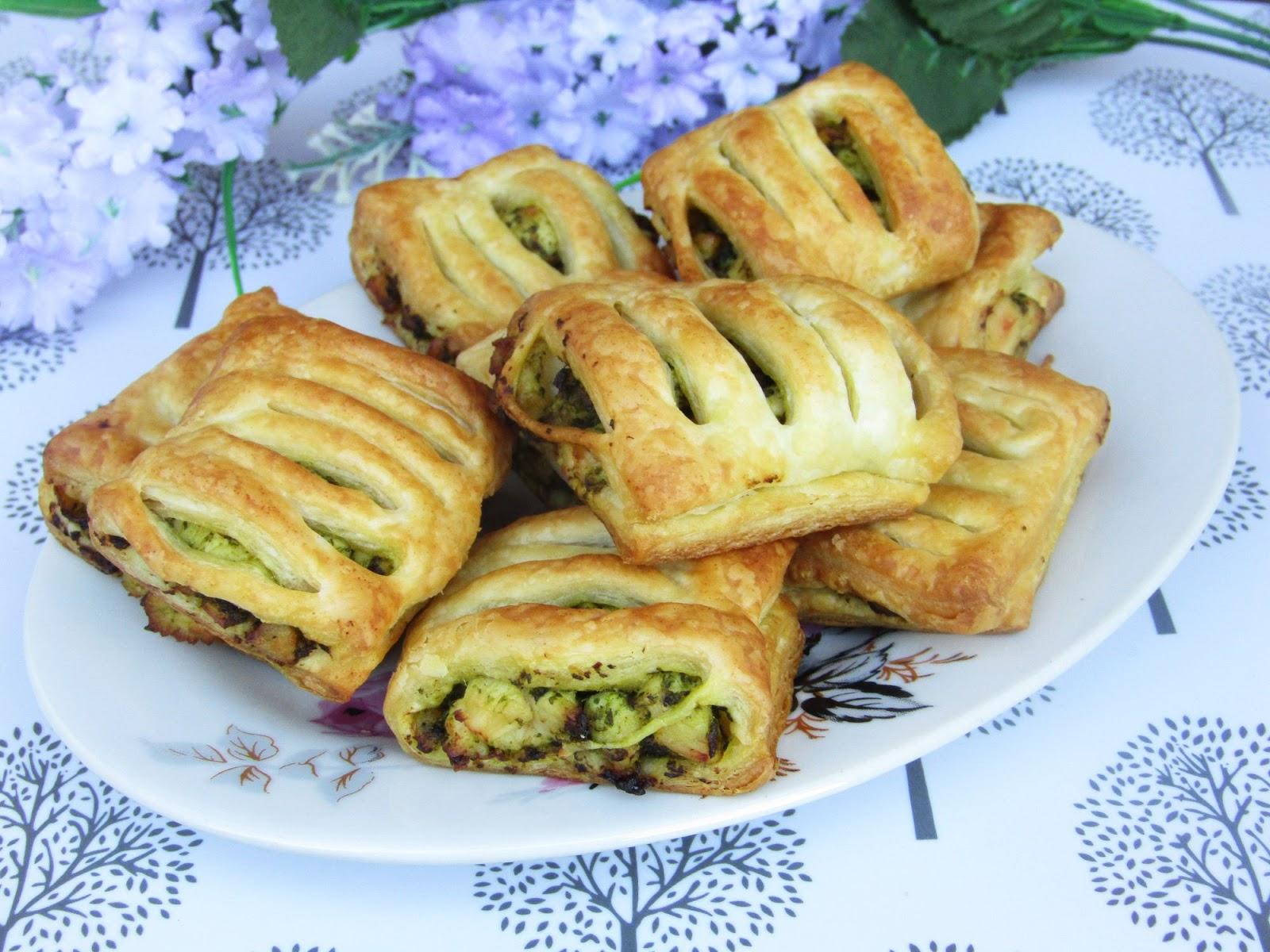 Tradycyjna Kuchnia Kasi Wytrawne Ciastka Francuskie Z Kurczakiem I