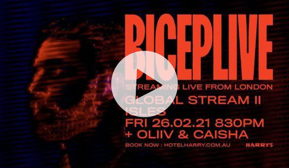Bicep Live Global Stream