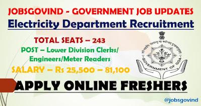Electricity Department Recruitment 2021