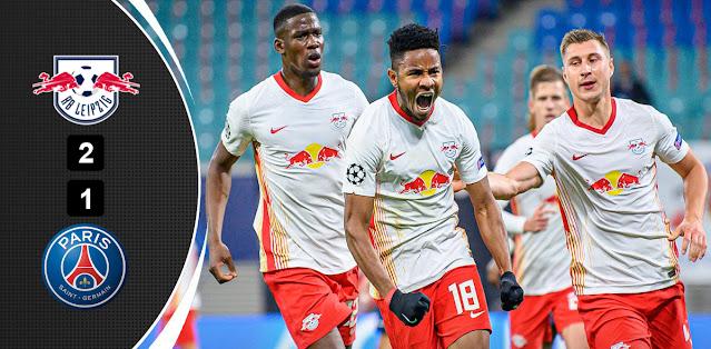 RB Leipzig vs PSG Highlights