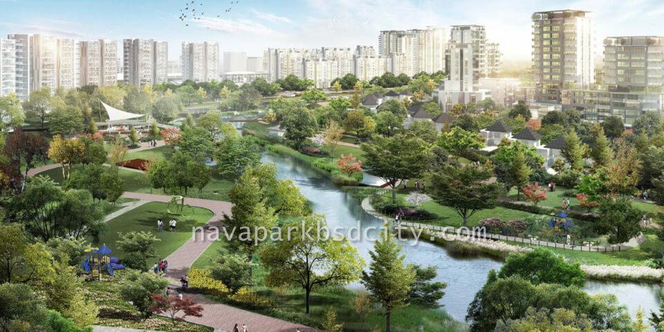 NavaPark BSD Garden