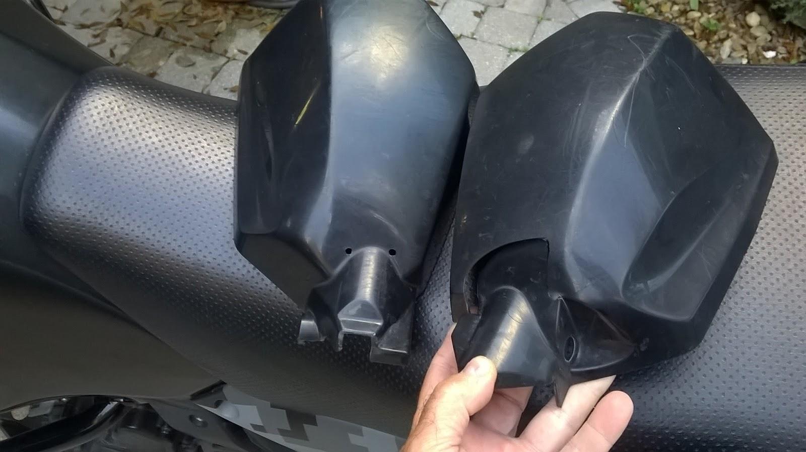 KamoKLR: Trackside Aluminum Handguards