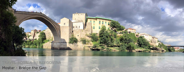 Travel Bosnia-Herzegovina. Mostar. Stari Most.