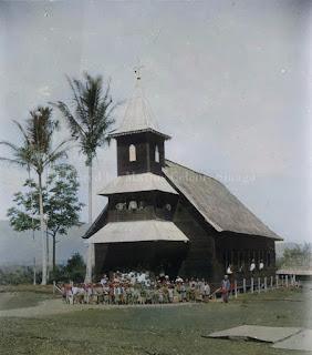 gereja zending rmg rheinisiche missionsgesellschaft di bunga bondar sipirok