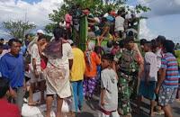 Terdesak, Warga Cegat Mobil Pengangkut Pupuk Bersubsidi di Donggobolo