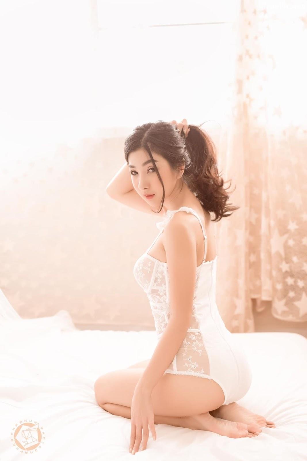 Image-Thailand-Sexy-Model-Pattamaporn-Keawkum-White-Transparent-Lingerie-TruePic.net- Picture-6