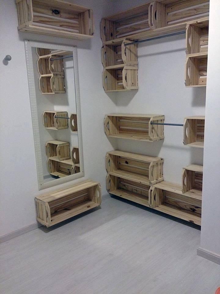 Cajas de madera recicladas construccion y manualidades - Cajas de madera recicladas ...
