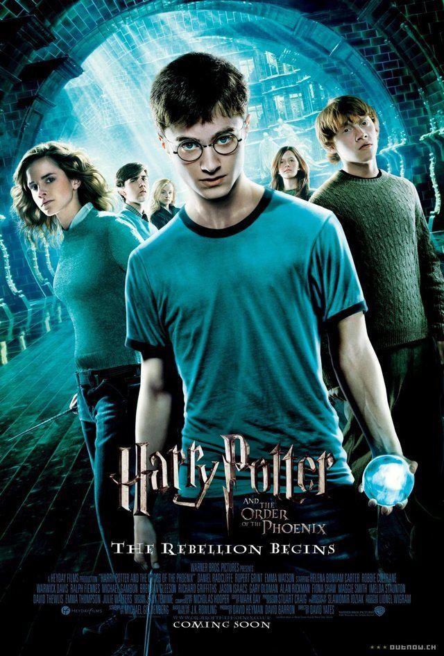 هاري بوتر الجزء الخامس هاري بوتر وجماعة العنقاء