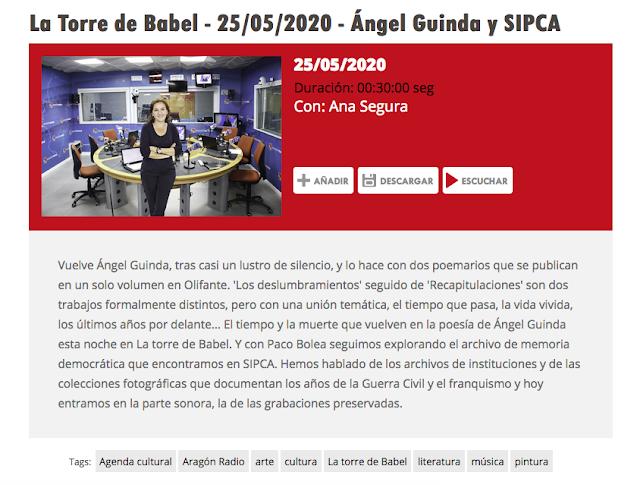 http://www.aragonradio.es/podcast/emision/la-torre-de-babel-25052020-angel-guinda-y-sipca/