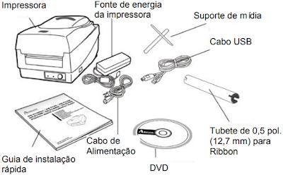 Impressora OS-2140 Argox