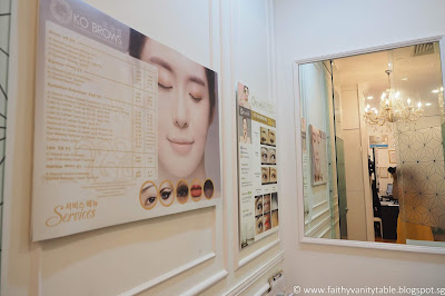 Review of KO BROWS Singapore best semi permanent beauty services