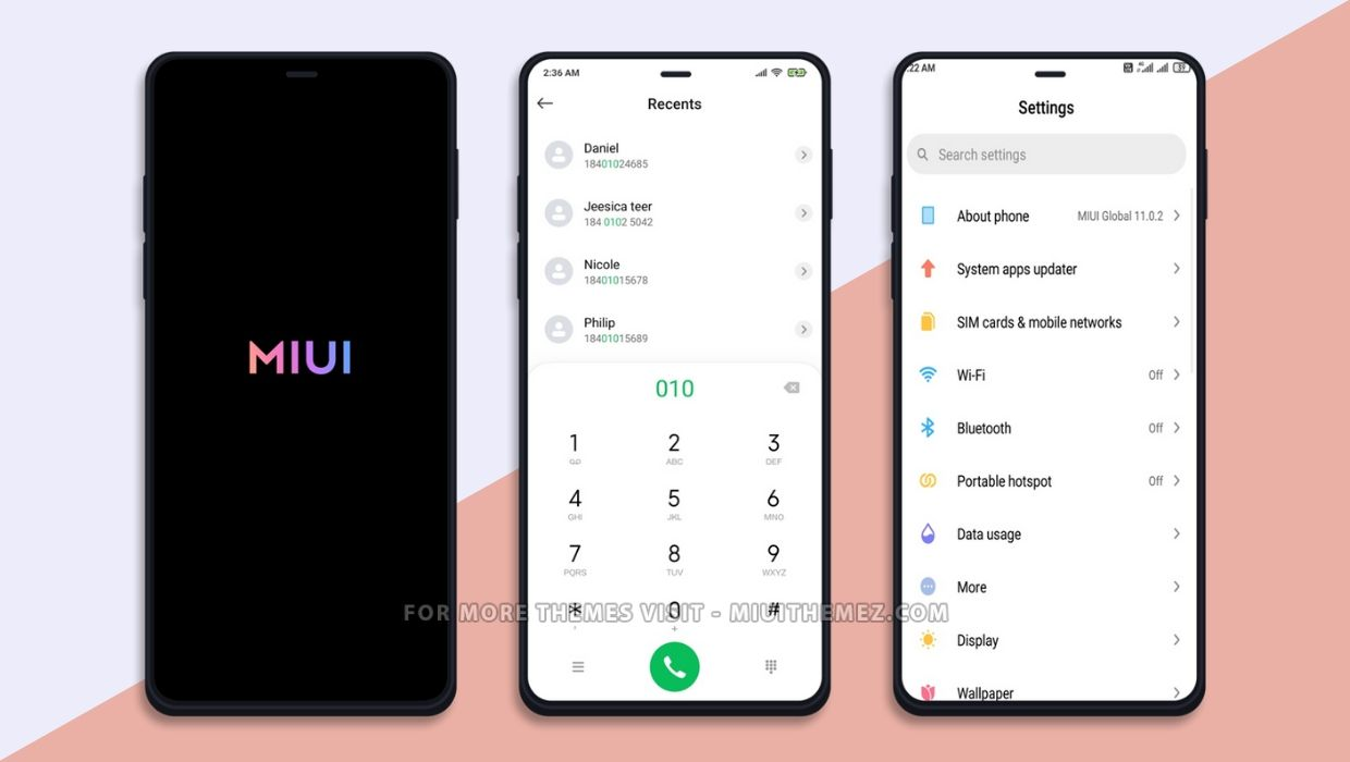 Ui 12 MIUI 12 Control Center Them