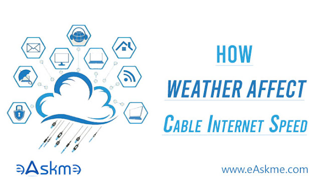 Does Cold or Wet Weather Affect Cable Internet Speeds?: eAskme