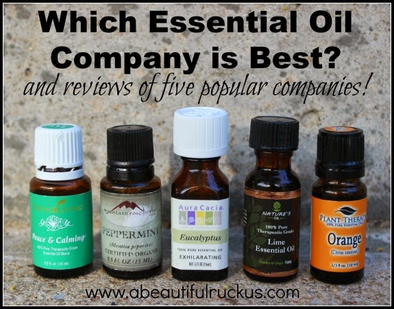 Which essential oil company is best?