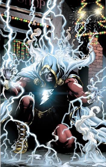Shazam es un superhéroe mágico