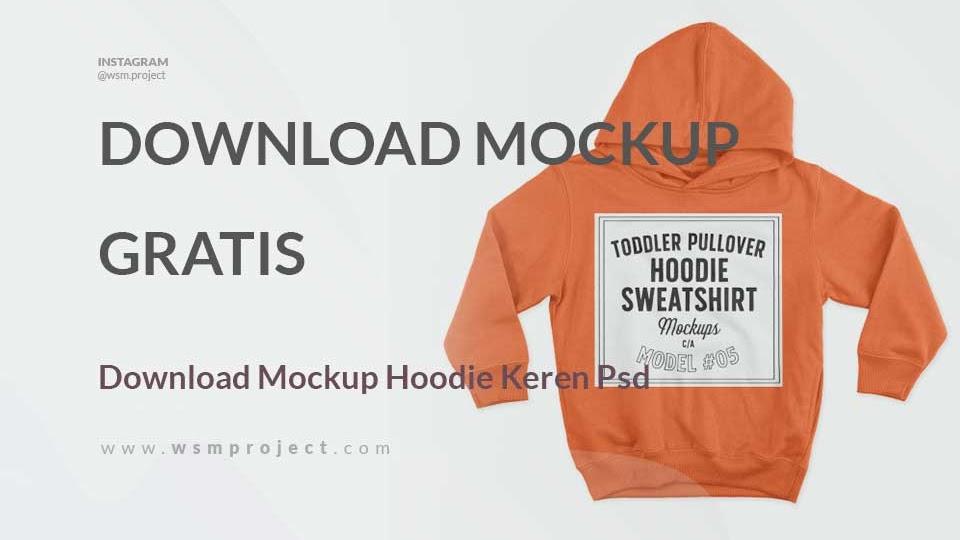 Mockup hoodie cdr