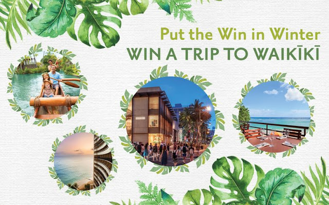 Where Traveler wants you to have the chance to put the WIN into winter this year, by giving away a fantastic sunny vacation package to Waikiki!