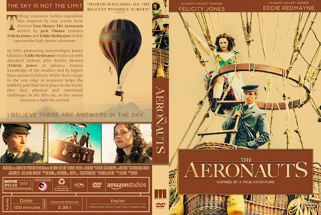 The Aeronauts DVD Cover