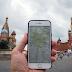 GPS funktioniert um den Kreml herum nicht