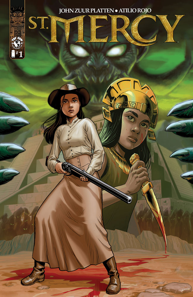 St. Mercy Coming in August - The Incan Empire vs The Wild West