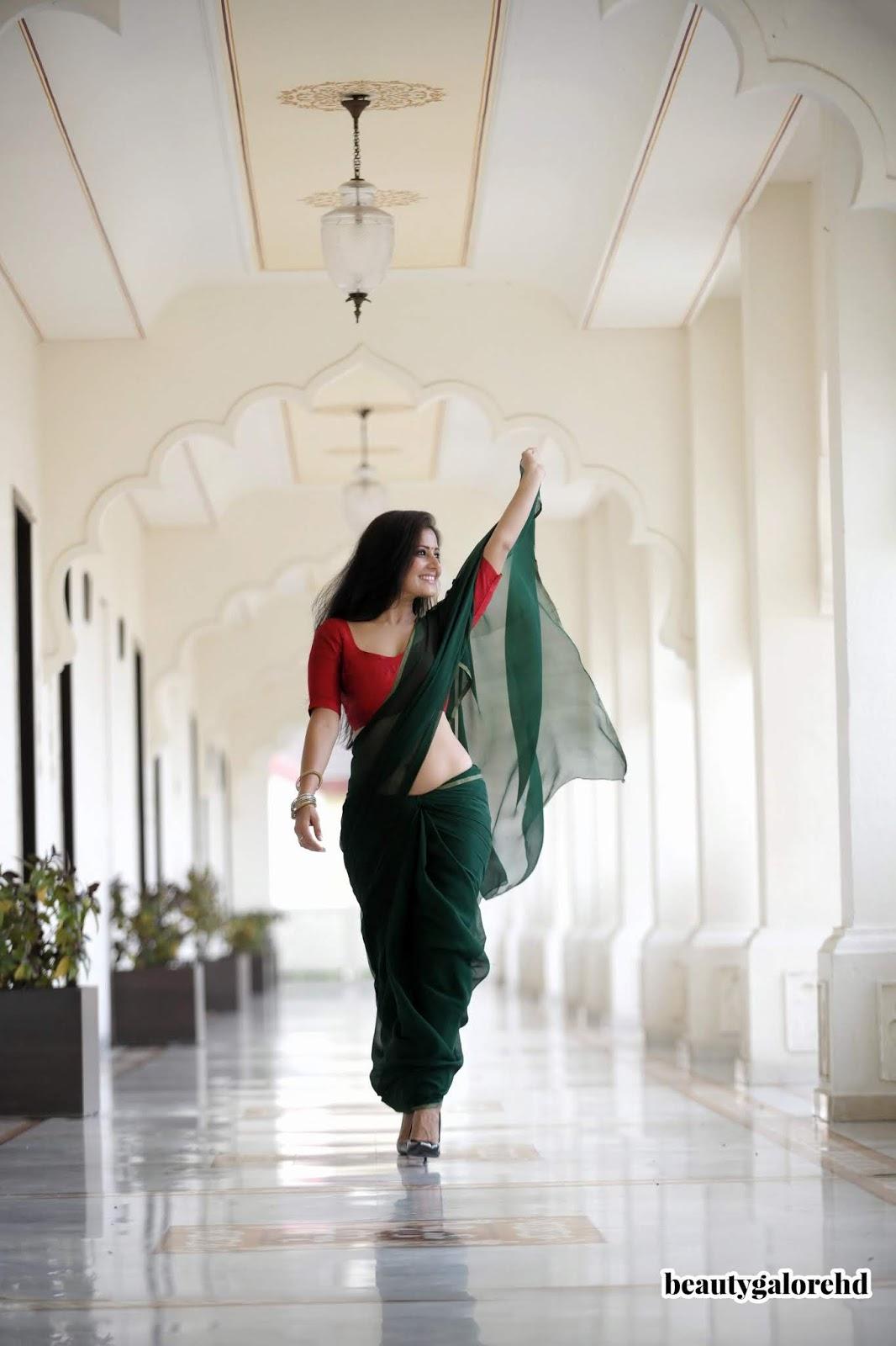 Archanna Gupta Hot Saree Come Back Photoshoot - December 2019