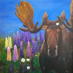 NATALIE EVE MARQUIS acrylic paintings, mixed media. studio 5