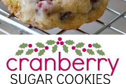 Soft Cranberry Sugar Cookies Recipe