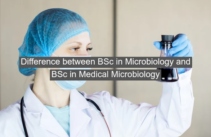 Difference between BSc in Microbiology and BSc in Medical Microbiology