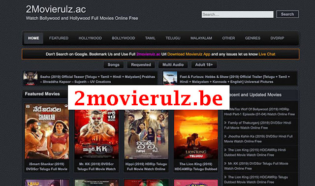 2movierulz.be- Latest 2020 Bollywood Hollywood Movies 2movierulz.be