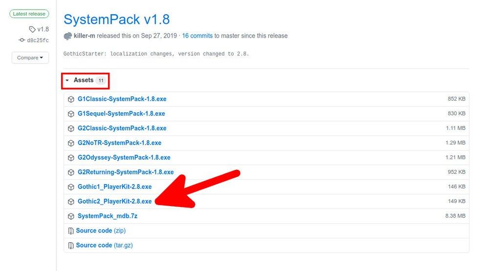 Install Gothic 2 in Windows 10