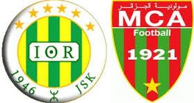 مباراة مولودية الجزائر وشبيبة القبائل match mca vs jsk