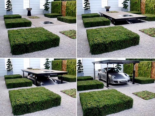 Model Garasi Rumah Minimalis Berteknologi Canggih