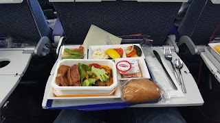 all nippon airways meal yvr to haneda