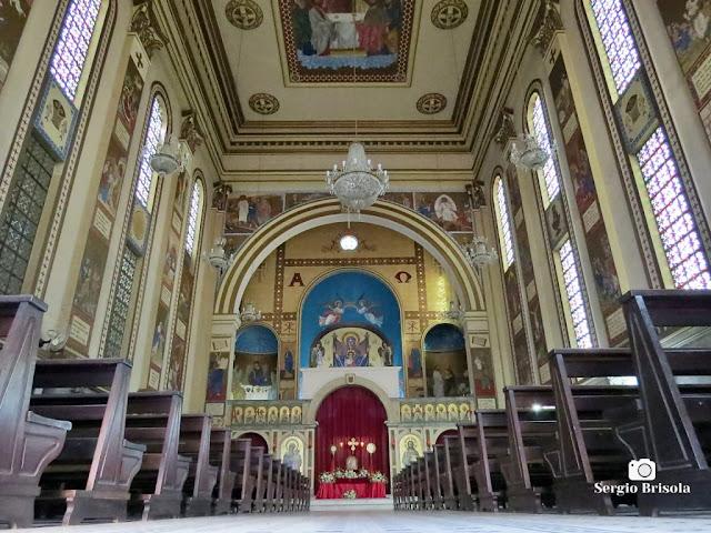 Perspectiva artística do interior da Catedral Nossa Senhora do Paraíso - Paraíso - São Paulo
