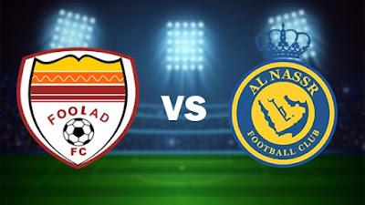 مشاهدة مباراة النصر ضد فولاد خوزستان 23-04-2021 بث مباشر في دوري أبطال أسيا